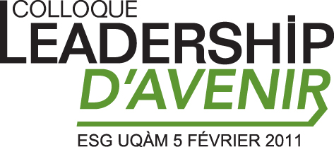 Logo Colloque Leadership d'avenir 2011